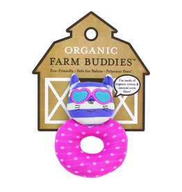 Farm Buddies Catnap Kitty - Rattle