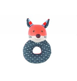 Farm Buddies Frenchie the Fox - Rattle