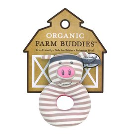 Farm Buddies Pork Chop - Rattle