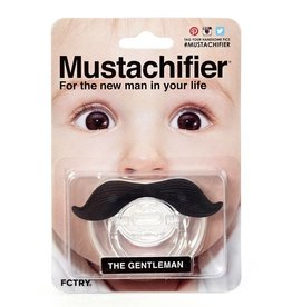 FCTRY Mustachifier Pacifier - The Gentleman