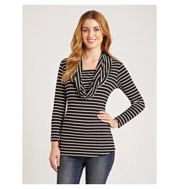 JoJo Maman Bebe Maternity Cowl Neck Feeding Top
