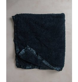 Little Unicorn Chenille Receiving Blanket - Navy