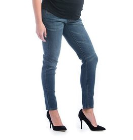 Lilac Maternity Lilac Skinny Denim - Medium Wash/Whiskered