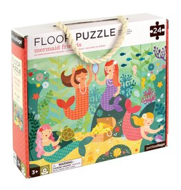 Petit Collage Floor Puzzle - Mermaid Friends