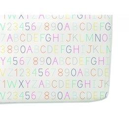 Petit Pehr Organic Crib Sheet - Alphabet