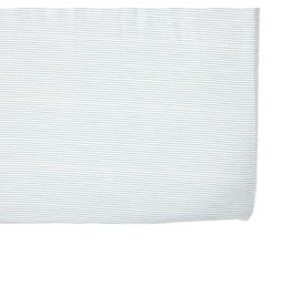 Petit Pehr Organic Crib Sheet - Blue Pencil Stripe
