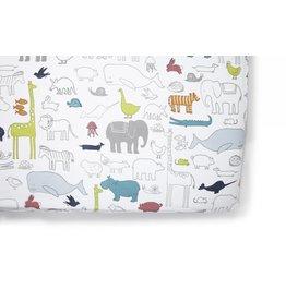 Petit Pehr Organic Crib Sheet - Noah's Ark