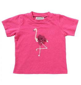 Rockin' Baby Flamingo Watercolor Tee