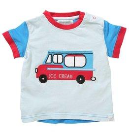 Rockin' Baby Ice Cream Van Applique Tee & Pant Set