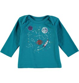 Rockin' Baby Lost in Space Applique Tee & Pant Set