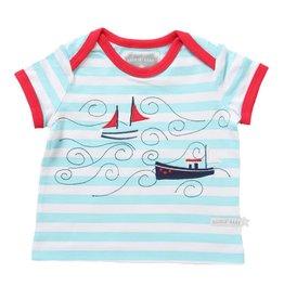 Rockin' Baby Rollin' Boat Applique Tee
