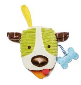Skip Hop Bandana Buddies Soft Puppet Book - Dog