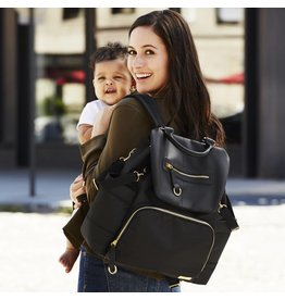 Skip Hop Chelsea Downtown Chic Backpack - Black