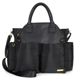 Skip Hop Chelsea Downtown Chic Satchel - Black