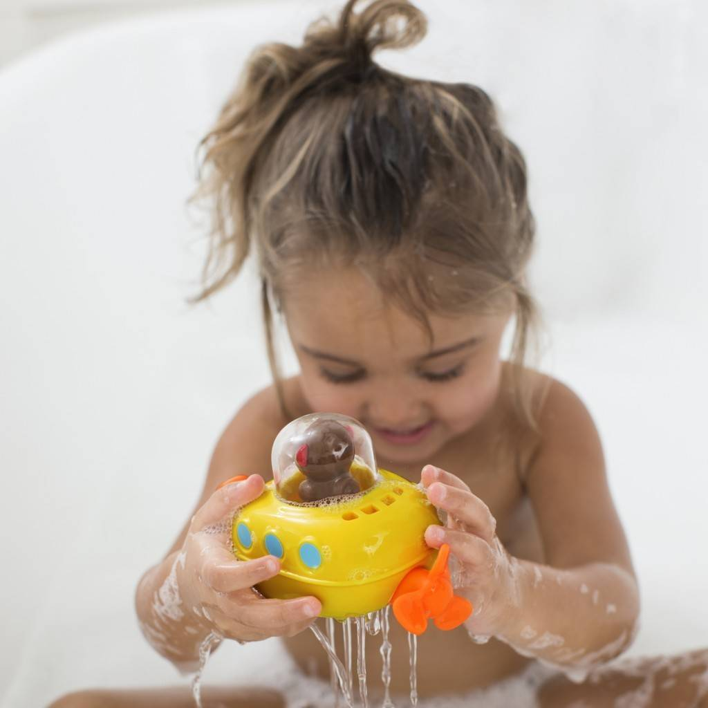 Skip Hop Pull & Go Monkey Submarine Bath Toy - Bump & Baby, LLC