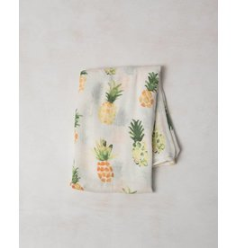 Little Unicorn Bamboo Swaddle - Pineapple