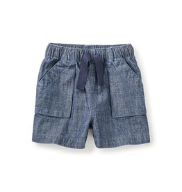 Tea Collection Sweet Chambray Pull-On Shorts