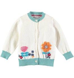 Rockin' Baby Embroidered Garden Cardigan