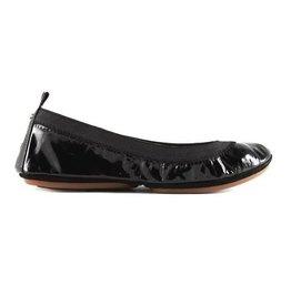 Yosi Samra Ballet Flat - Black Patent
