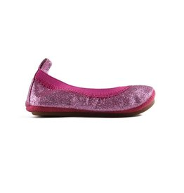 Yosi Samra Sparkle Ballet Flat - Fuchsia
