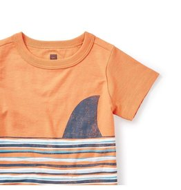 Tea Collection Fin Graphic Baby Tee