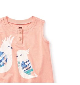 Tea Collection Corella Graphic Baby Henley