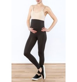 Lux Junkie Maternity Maternity Legging - Dark Charcoal Grey