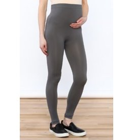 Lux Junkie Maternity Maternity Legging - Light Grey