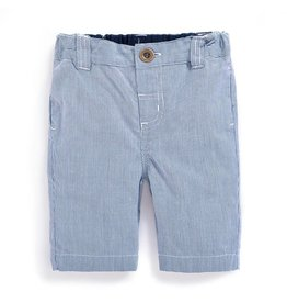 JoJo Maman Bebe Maternity Classic Stripe Shorts Navy/White Stripe