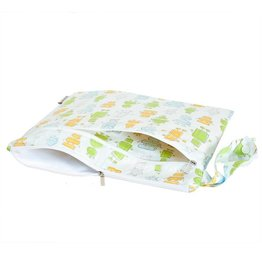 Bebe Au Lait Best Ever Wet/Dry Bag - Robots