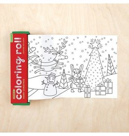 Chronicle Books *SPECIAL EDITION* Mini Coloring Roll - Merry Christmas