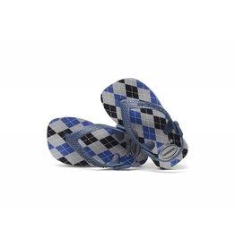 Havaianas Havaiana Flip-Flops - Blue Argyle