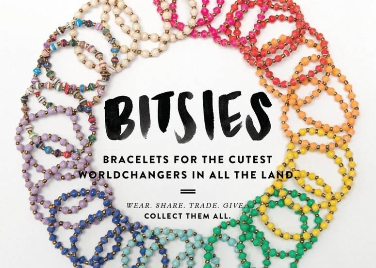 31 Bits Bitsies Bracelet - Kelly Green