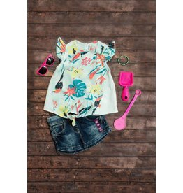 Babyface Dark Wash Jogger Skirt