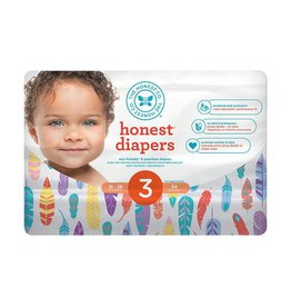 Honest Company Honest Diapers - *LIMITED EDITION* Painted Feathers