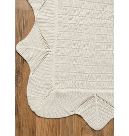 Apple Sauce Christening Blanket - Deluxe Bamboo