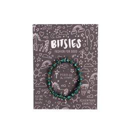 31 Bits Bitsies Bracelet - Teal Glitter