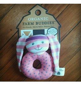 Farm Buddies Hip Hop Bunny - Rattle