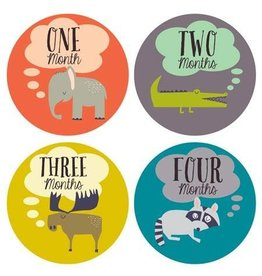 Lucy Darling Lucy Darling Milestone Stickers - Little Animal Lover