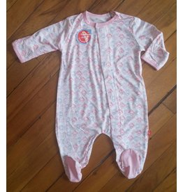 Magnificent Baby Magnetic Footie - Cotton Modal - Fairies
