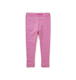 Tea Collection Tea Baby Legging - Shocking Fuchsia Stripe