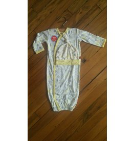 Magnificent Baby Magnetic Gown - Cotton Modal - Into the Woods (Yellow/Neutral)