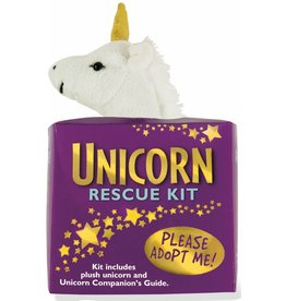 Peter Pauper Press Adoption Rescue Kit - Unicorn