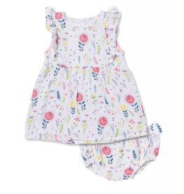 Angel Dear Alice in Wonderland Floral Dress w/Bloomer
