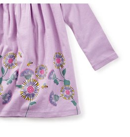 Tea Collection Thistle Graphic Baby Dress