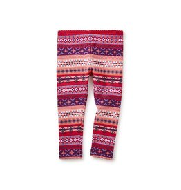 Tea Collection Fair Isle Stripe Baby Leggings