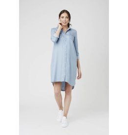 Ripe Maternity Long Sleeve Weekend Shirt Dress