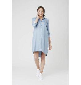Ripe Maternity Long Sleeve Weekend Shirt Dress