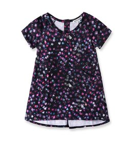 Art & Eden Plum Floral Baby T-Shirt Dress