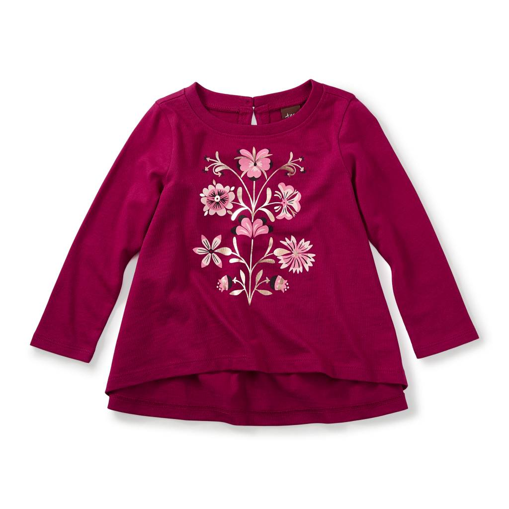 Tea Collection Cally Graphic Baby Tee